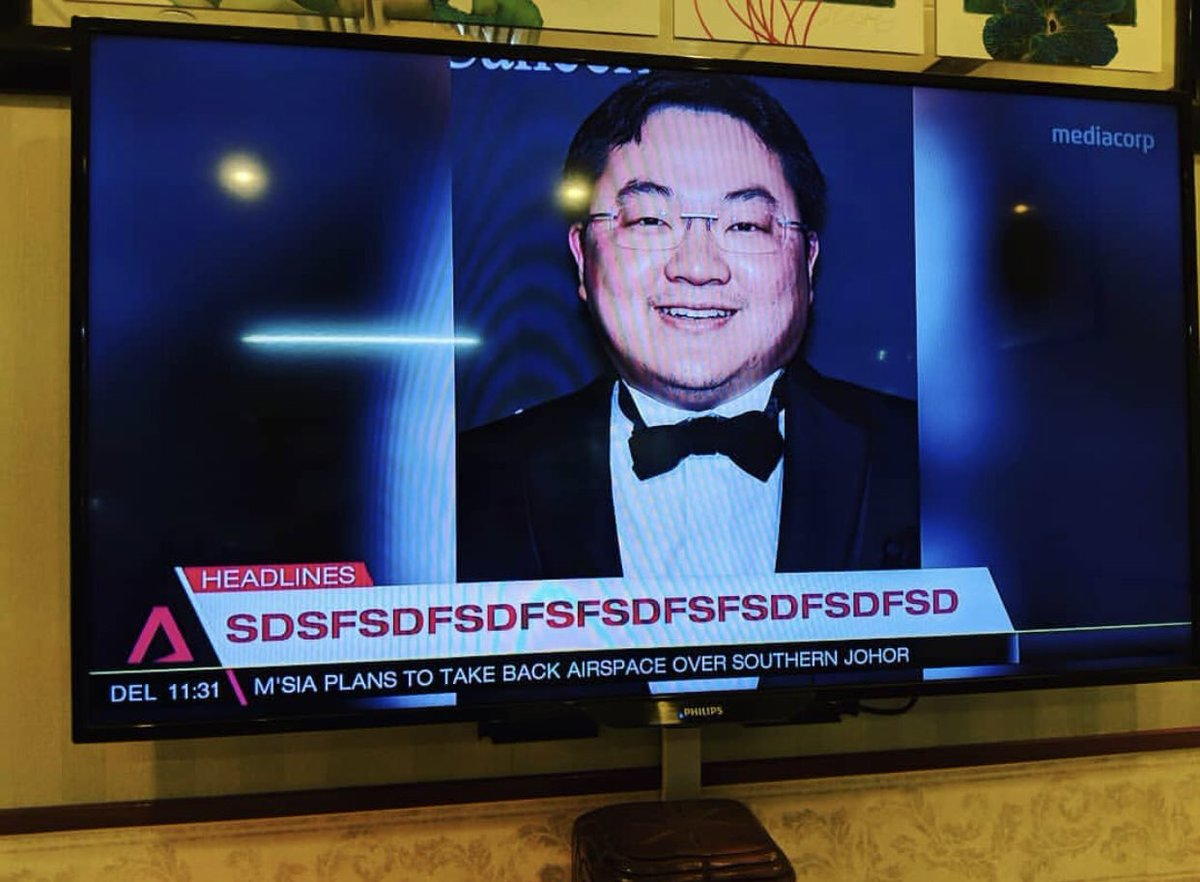 Channel NewsAsia botches headline of Jho Low story on live