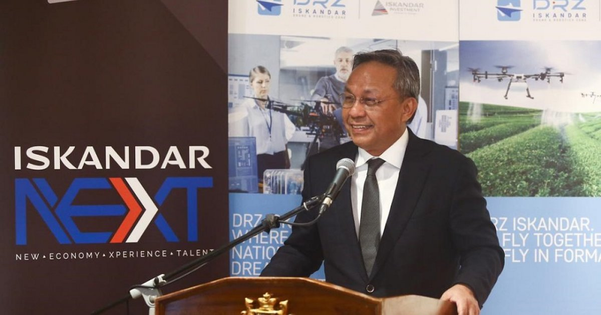 mb:-johor-poised-to-be-regional-hub-for-drones,-robotics-with-dedicated-zone-in-iskandar-malaysia