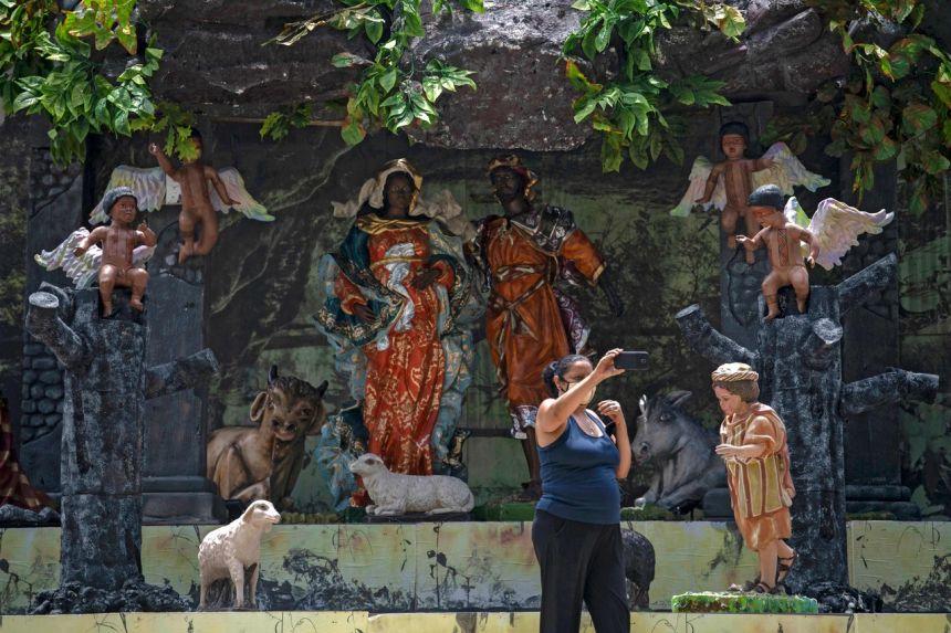 black-jesus-born-in-burnt-amazon-at-brazil-church-manger