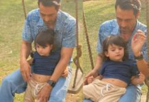 arjun-rampal's-son-arik-clings-to-daddy-as-he-visits-him-on-sets-in-delhi.-see-pics