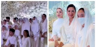 erra-fazira's-daughter-hailed-a-model-citizen-for-wearing-face-mask-at-neelofa's-crowded-wedding-ceremony